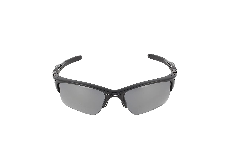 1c5809058267d6 Amazon.com  Oakley Mens Half Jacket 2.0 XL OO9154-05 Polarized Sunglasses  58mm, Polished Black Frame Black Iridium Polarized Lens, 62 mm  Oakley   Clothing