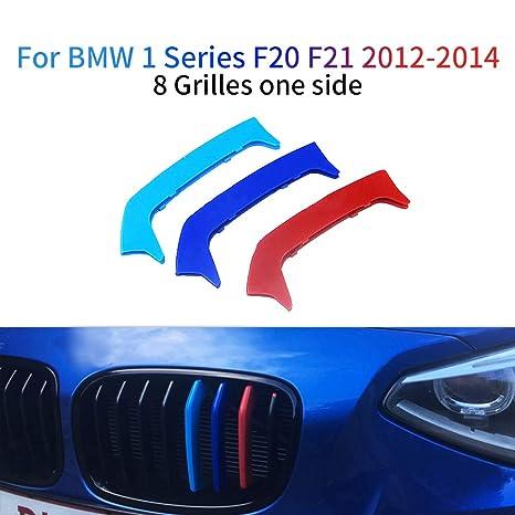 M-Colore Franjas Decorativas para Parrilla Delantera para 1 Series F20 F21 116i 118i 125i