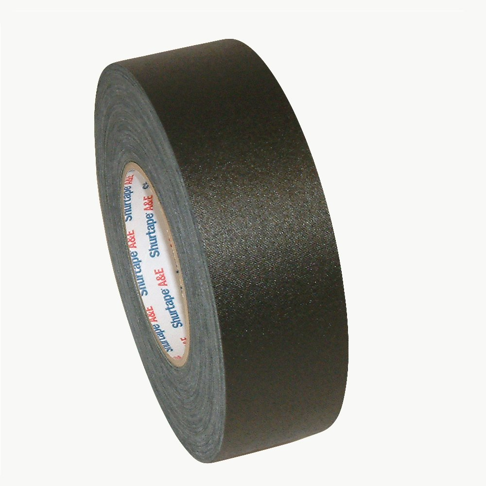Shurtape P-665 General Purpose Gaffers Tape (Permacel): 2 in. x 55 yds. (Black) by Shurtape (Image #1)
