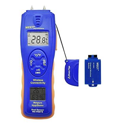 Extech mo50 Humedad Medidor /% Humedad Madera materiales de construcción alerta audible