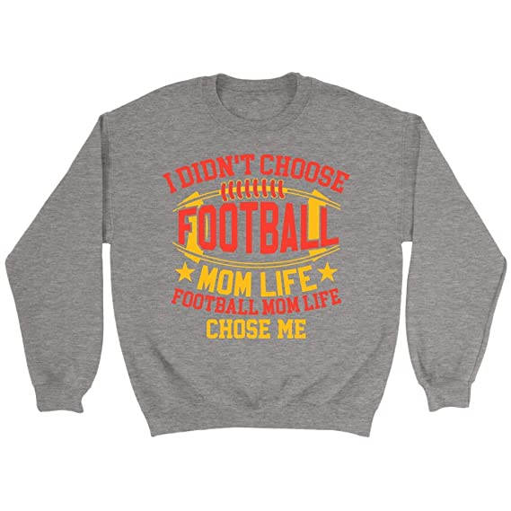 abbe745d NeatFind.net I Didnt Choose Football Mom Life Football Mom Life Chose Me  Sweatshirt at Amazon Women's Clothing store: