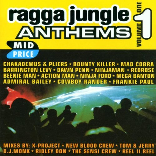 Ragga Free Shipping New Max 44% OFF Jungle Anthems