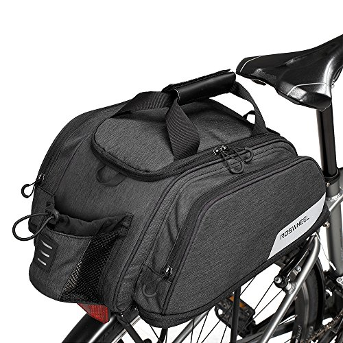 WOTOW Bike Rear Trunk Bag Bicycle Pannier Seat Bag Cycling Backseat Tote...