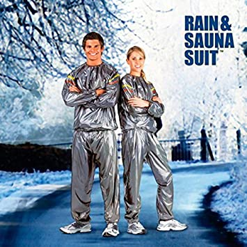 Bigbuy Traje Sauna Rain & Sauna Suit 420 gr