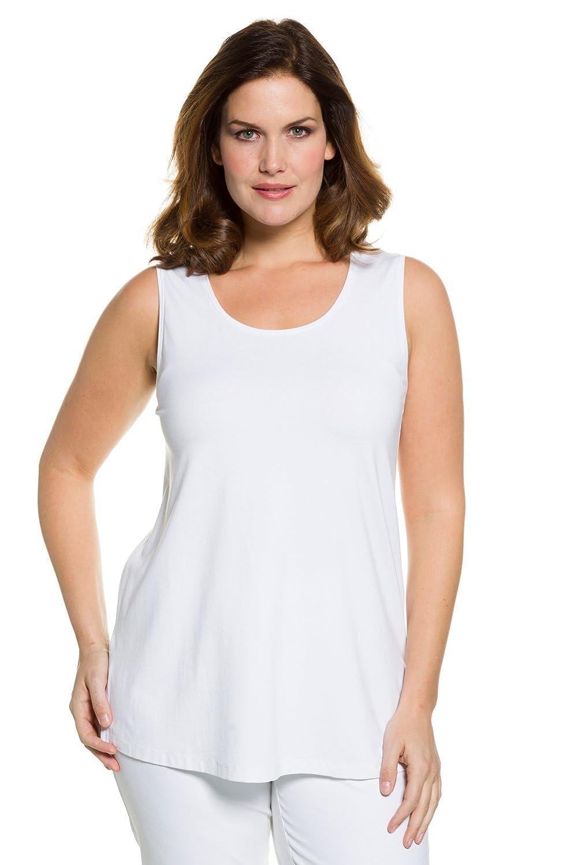 Ulla Popken Top RH, Camiseta sin Mangas para Mujer