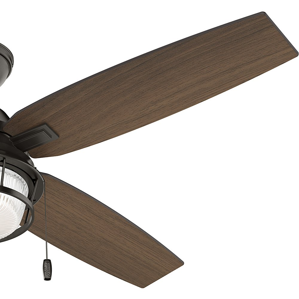 Hunter 59214 Casual Ocala Noble Bronze Ceiling Fan With Light 52 Kit Wiring Diagram Further