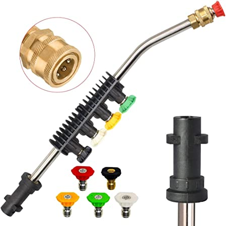 Pressure Washer Jet Wash Extension Lance New Type Compatible for Karcher #1