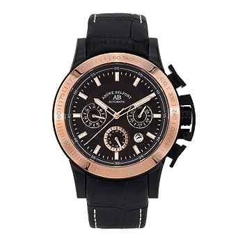 André Belfort Reloj Analógico para Hombre de Automático con Correa en Cuero 410317: Amazon.es: Relojes