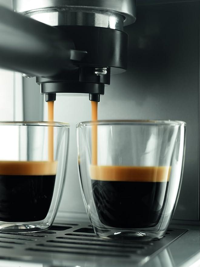 Saeco Poemia HD8327/47 - Cafetera (Máquina espresso, 1 L, De café molido, 950 W, Acero inoxidable): Amazon.es: Hogar