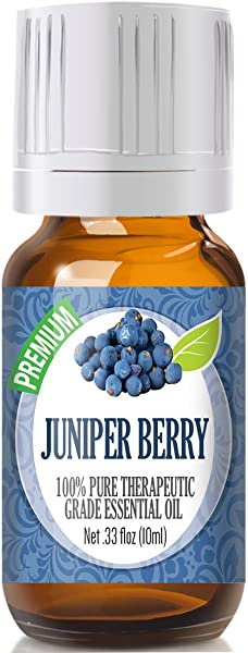 Juniper Berry 100% Pure, Best Therapeutic Grade Essential Oil - 10ml