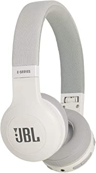 JBL E45BT Wireless On-Ear Headphones with Mic (White) On-Ear Headphones at amazon