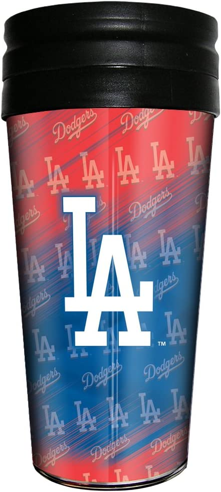 Brax LTD MLB Los Angeles Dodgers Travel Mug, 16-Ounce