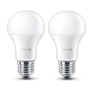 Philips LED Lampe Matt Ersetzt 40W, EEK A+, E27, Warmweiß (27000 Kelvin