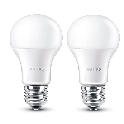 Philips Led Lampe E27 Doppelpack 6w 40w Warmweiss 470 Lm Matt