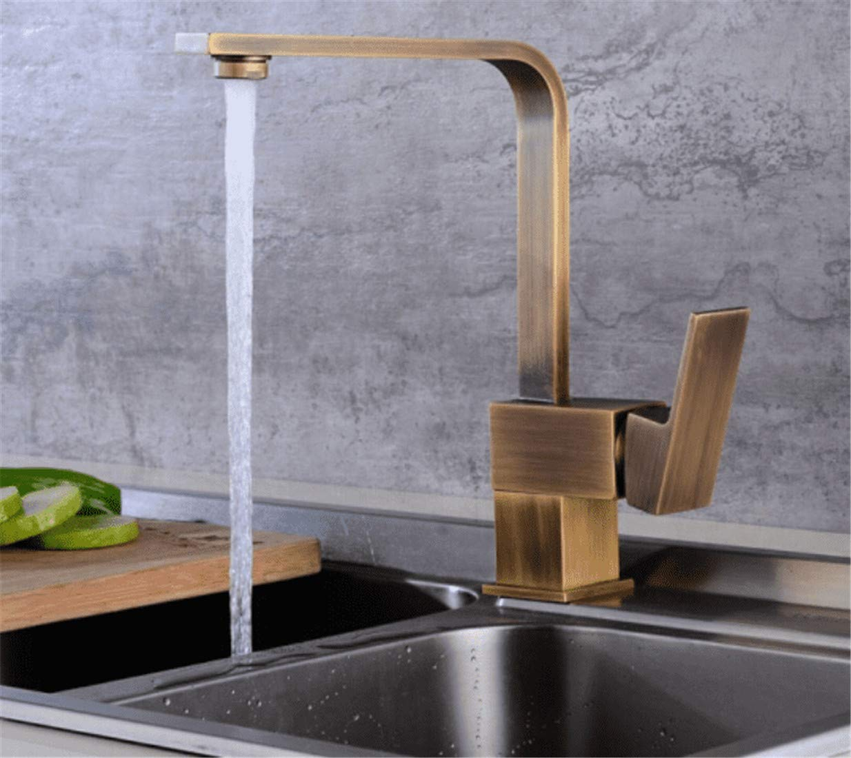 F Mucert Tap,All Copper,Hot and Cold Water,Bathroom Basin Faucet,European redating Faucet,C