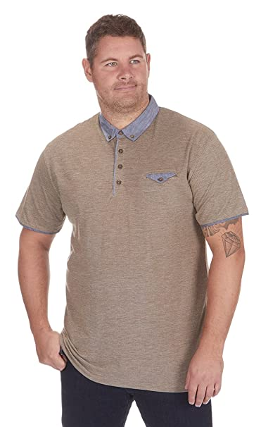 Urban Revival - Polo - para Hombre Beige marrón XXXXXL: Amazon.es ...