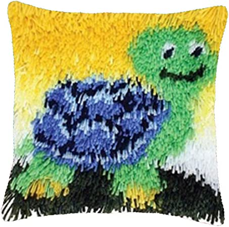 amazon com diy latch hook kits yarn