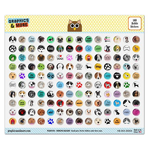 Graphics More Colorful Bubble Stickers