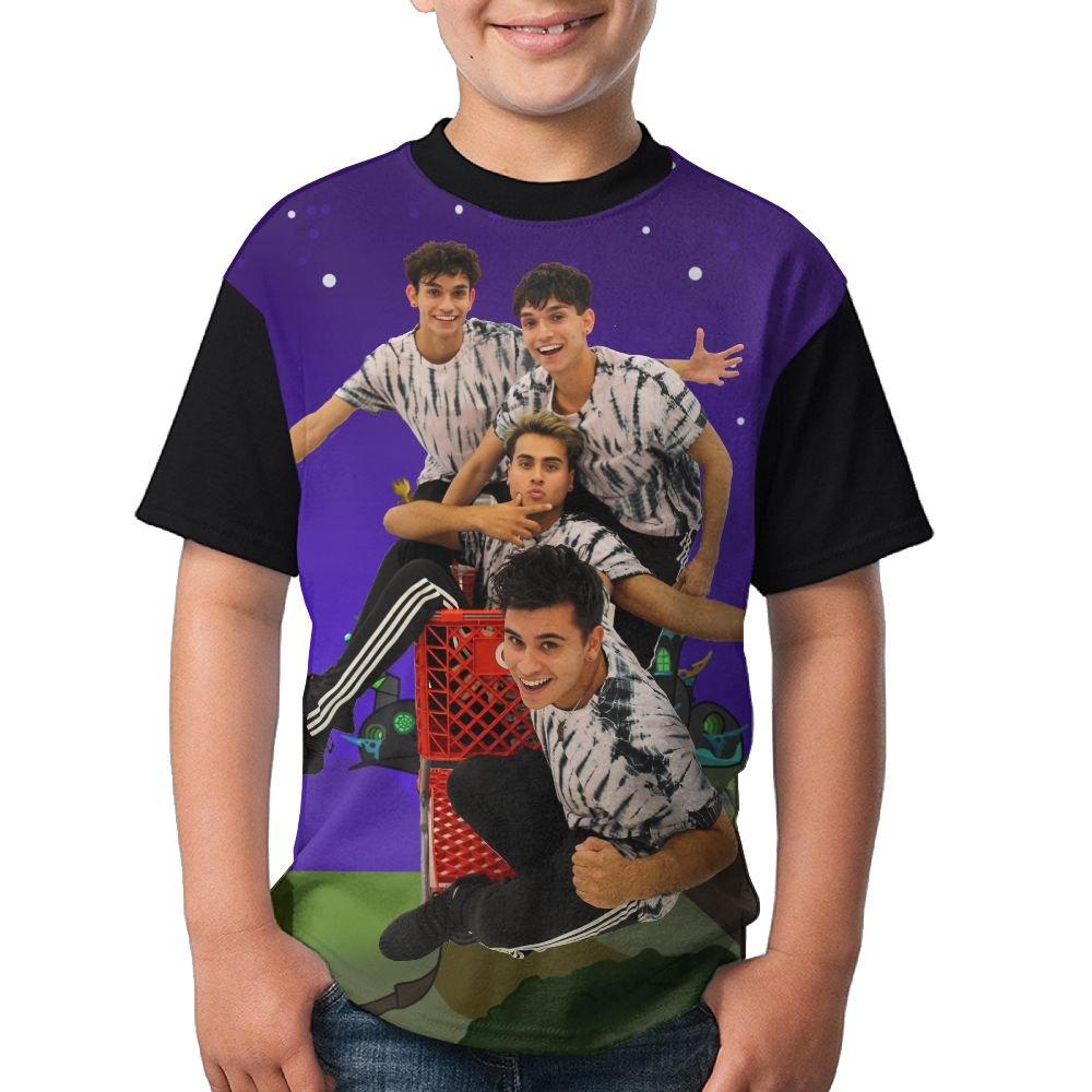F&Rtees Attack Dobre Brothers 3D Print Young Summer Raglan Short Sleeves Shirts