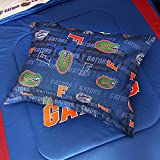NCAA Florida Gators All Over Shams, Standard, Bright Blue