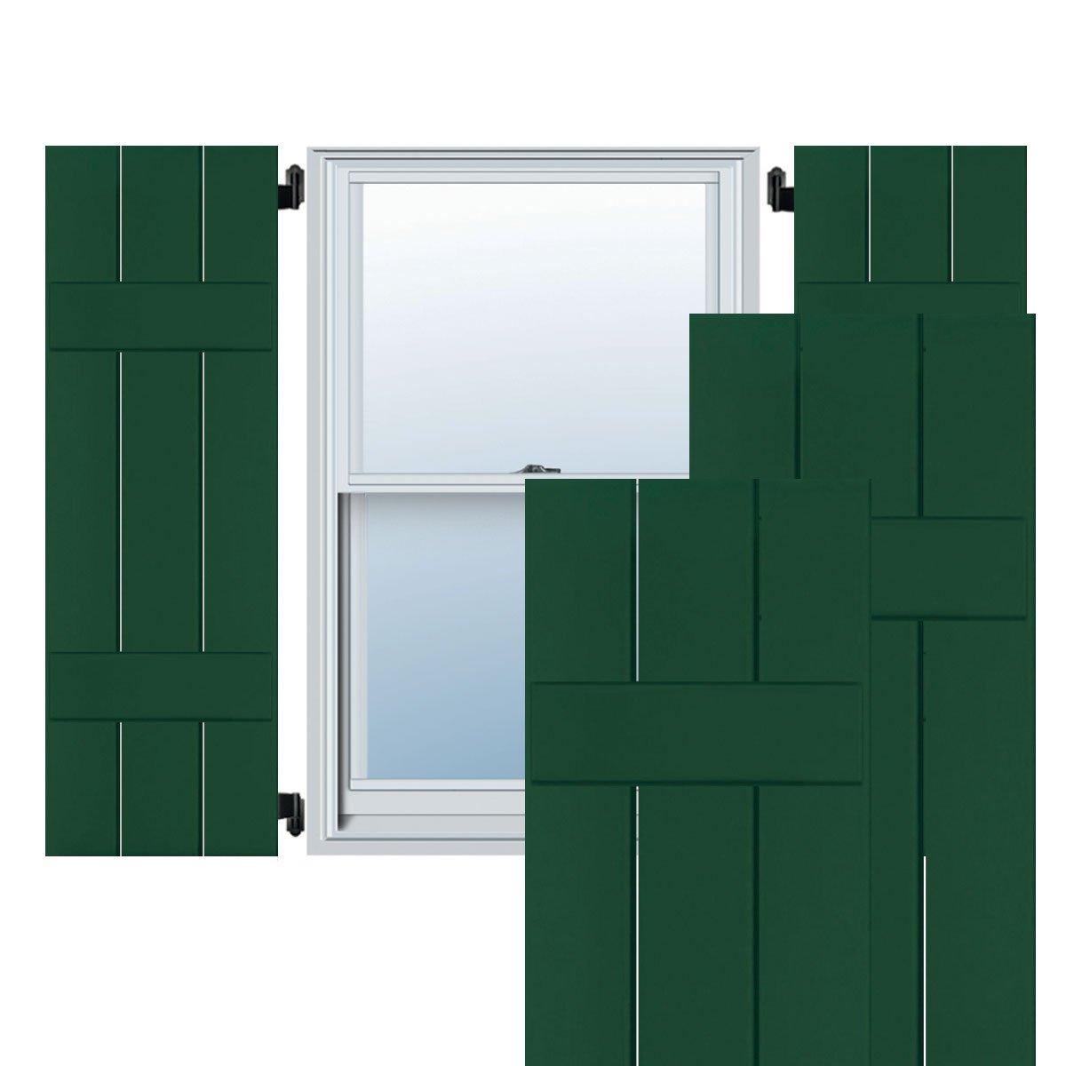 Ekena Millwork CWB12X040CGC Exterior Three Board