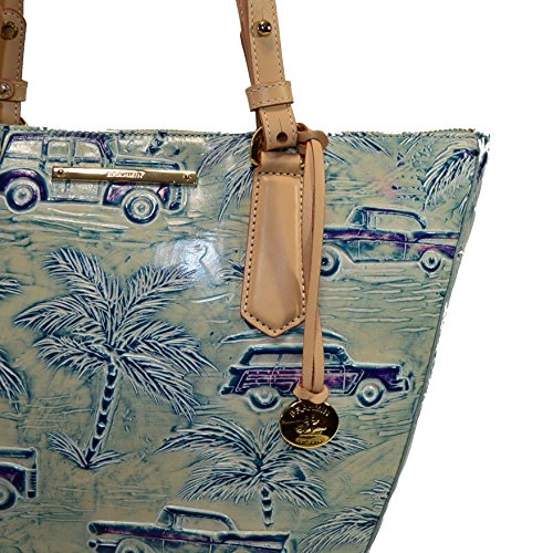 Sky Shoulder Bag Small Brahmin Copa Blue Cabana Willa Cars nXwq1zx
