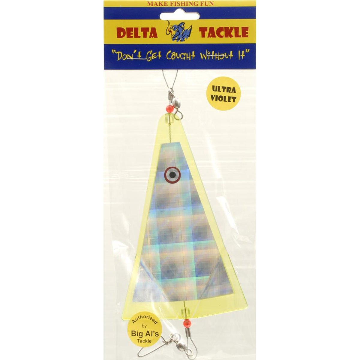GIBBS-DELTA TACKLE 88651 Inline Flasher Lure Yellow