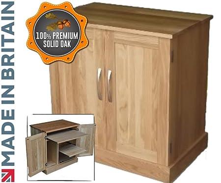 hideaway home office. 100% Solid Oak Desk,Hideaway Workstation, Hidden Home Office, Computer Cupboard, Hideaway Office R