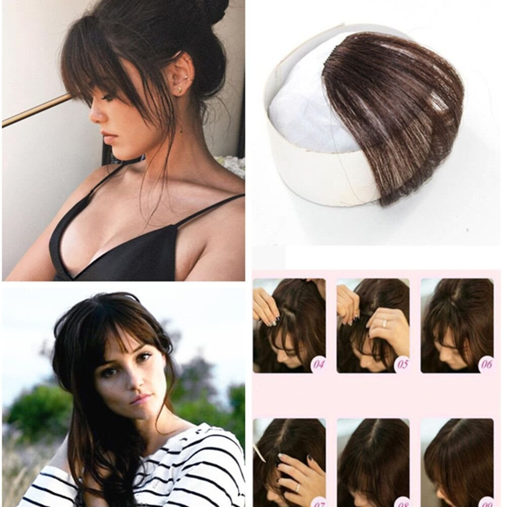 Amazon Ugeat Air Fringe Bangs Clip In Hair Extensions Front