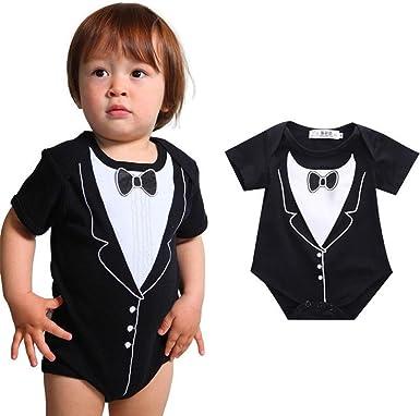 dayseventh 2016 recién nacido bebé Niños lazo corbata Impresión ...