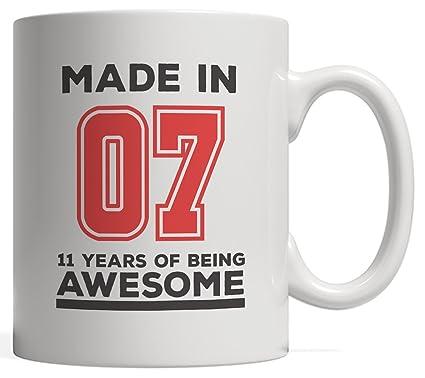 Made In 07 11 Years Of Awesomeness Mug