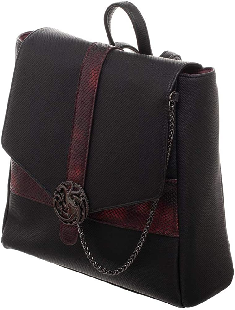MP-MINI BACKPAC HBO Game of Thrones Targaryen Mini Backpack black Standard