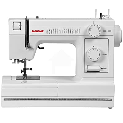 The Janome HD1000 Sewing Machine