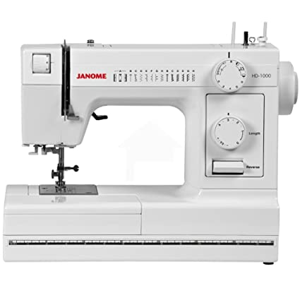 Amazon Janome HD40 HeavyDuty Sewing Machine With 40 BuiltIn Extraordinary Best Heavy Duty Sewing Machine For Beginners