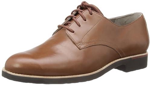 Rockport ALANDA PLAIN DERBY - Zapatos con cordones de cuero mujer, color  marrón, talla c1376016e5df