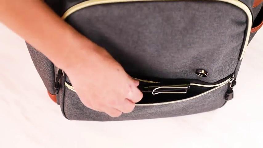 Modoker Vintage Laptop Backpack for Women Men,School College Backpack 7