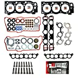 #1: MPLUS Head Gasket & Head Bolts Kit for 96-02 Toyota 4Runner & 95-98 Toyota T100 & 95-04 Toyota Tacoma & 00-04 Toyota Tundra 3.4L V6 5VZFE