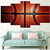 Themed Canvas Wall Art Canvas Art Abstract Fire Basketball Posters And Prints Exciting Sport Basket Goal Painting Wall Pictures For Boys Room Baby Nursery D¨¦cor Kids Room Basketball Boys Gift
