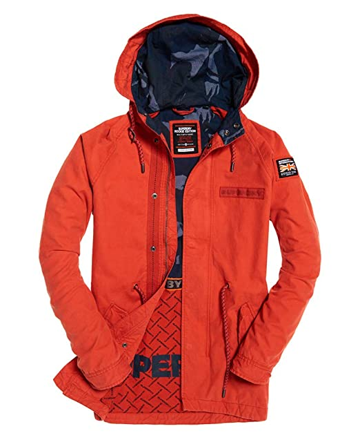 Amazon.com: Superdry Aviator Rookie Parka - Chaqueta: Clothing