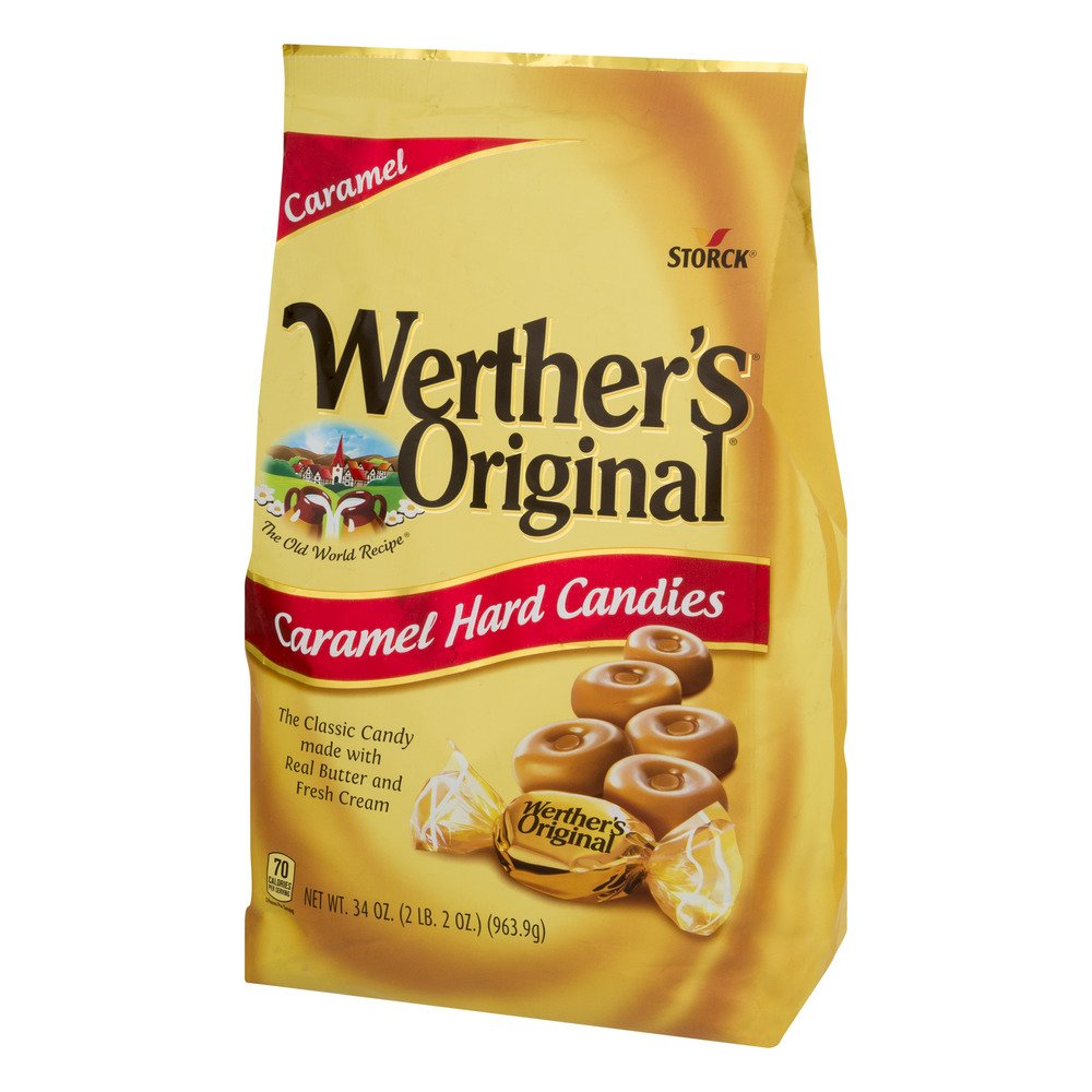 Werther's Original Caramel Hard Candy, 34.0-Ounce Bags (Pack of 5) by  (Image #2)