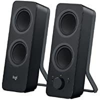 Logitech Z207 Bluetooth Speakers/PC Speakers or 3.5 mm Input, 10 W - Black