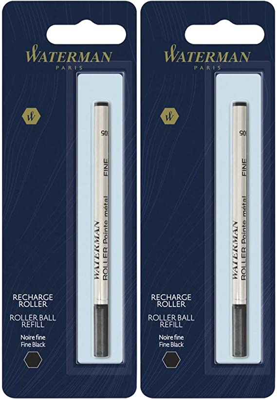 Waterman Paris Ball Point Pen Refill Medium Black