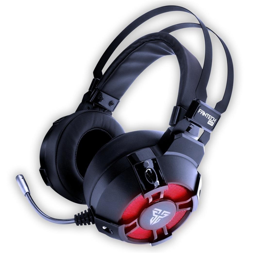 Cascos Gamer USB - Sonido Envolvente 7.1 + Aislante de Ruidos - Audio de Alta Definición + Potentes Bajos - Auriculares de Diadema con micrófono para ...