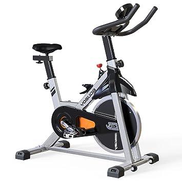 YOSUDA - Bicicleta estática para Interiores con Soporte para ...