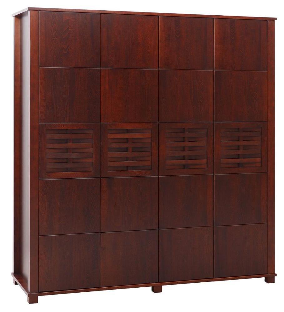 Kleiderschrank Kirsche 194x186x60 cm: Amazon.de: Baumarkt