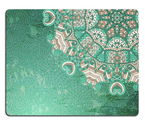 MSD Natural Rubber Mousepad IMAGE 24068678 Vintage pattern Hand drawn abstract background Decorative retro banner Hand Drawn Personalized Christmas Cards