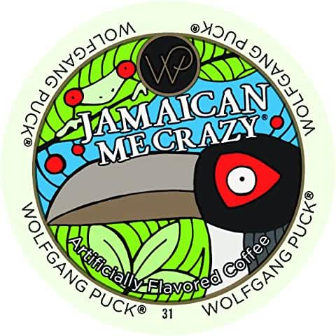 Wolfgang Puck Coffee Capsules, Jamaican Me Crazy, 18 Count