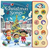 Christmas Songs: Interactive Children's Sound Book (10 Button Sound) (Interactive Early Bird Children's Song Book with…
