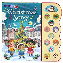Christmas Book.Amazon Com Christmas Songs Interactive Children S Sound