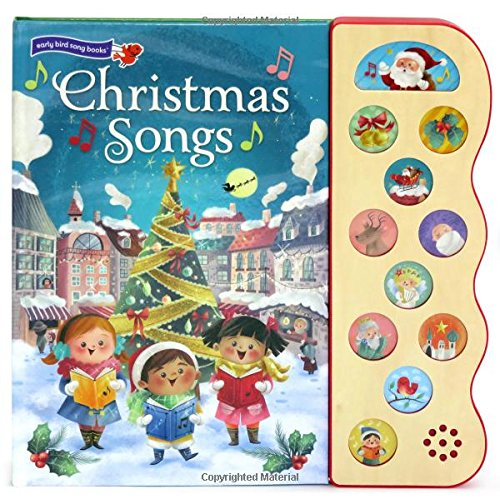 Christmas Songs: Interactive Children's Sound Book (10 Button Sound) (Early Bird Song) (For Songs Christmas Toddlers Best)